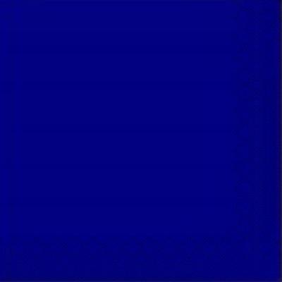 Салфетка однотонная синяя 33*33 50шт/уп