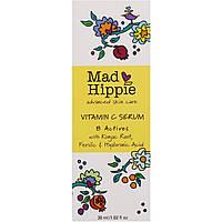 Сыворотка витамина С, 8 активных веществ, 30 мл, Mad Hippie Skin Care Products