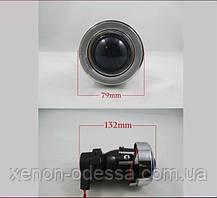 """Моно линзы ПТФ 1,8"""" под ксенон или галоген (белые стекла), фото 2"""
