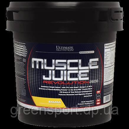 Гейнер Ultimate Muscle Juice Revolution 2600 (5,04 кг) Банан