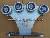 Каретка роликовая, опорная до 400 кг. SP Premier.