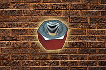Гайка М16 ГОСТ Р 52645-2006 оцинкованная