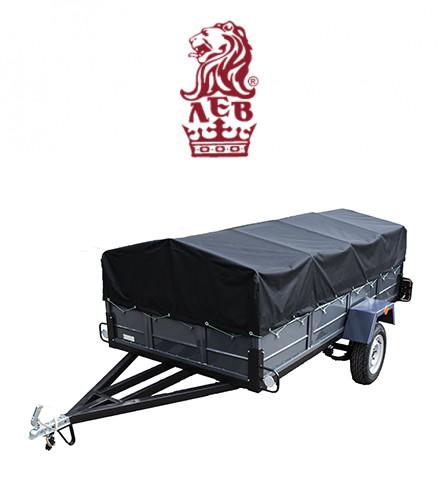 Купить одноосный трехметровый гигант легковой прицеп Лев с завода!
