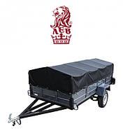 Купить одноосный трехметровый гигант легковой прицеп Лев с завода!, фото 1