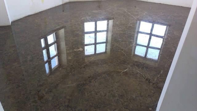 Облицовка мрамором.Мощение мраморных полов на бетонное основание.