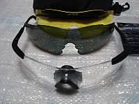 Очки тактические для глаз ESS ICE. Баллистические противоосколочные. Армейский сток.(б\у), фото 1