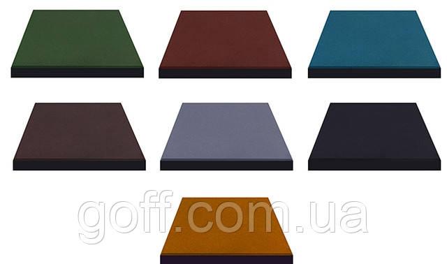 Резиновая плитка - цвета