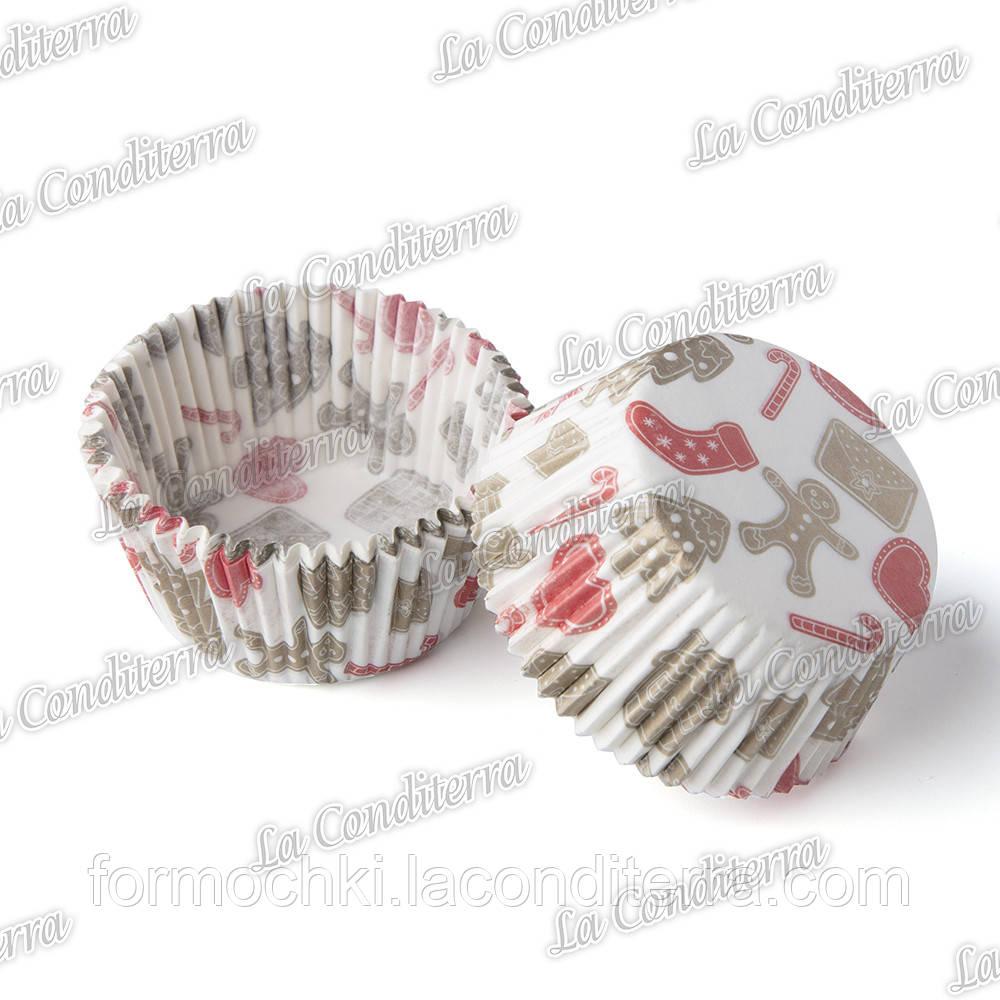 """Формы для конфет """"Имбирные пряники"""" 3b (Ø30, бортик – 24 мм), 2000 шт."""