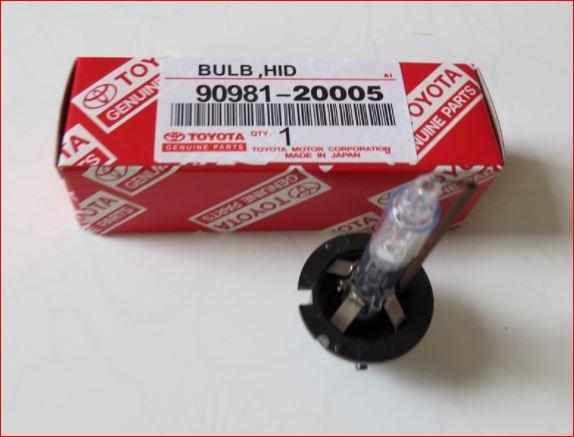 Ксеноновые лампы Филипс D2S 85122+ 90981-20005 4300К TOYOTA LEXUS