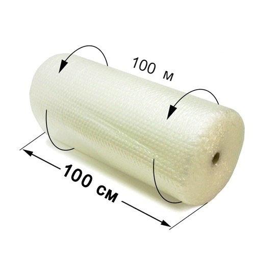 Пленка воздушно-пузырчатая 1х100 м