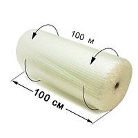 Пленка воздушно-пузырчатая 1х100 м, фото 1
