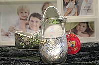 Детские праздничные туфельки для девочки 22-26 р.