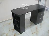 2х тумбовый стол Модель  А56 черный, фото 1