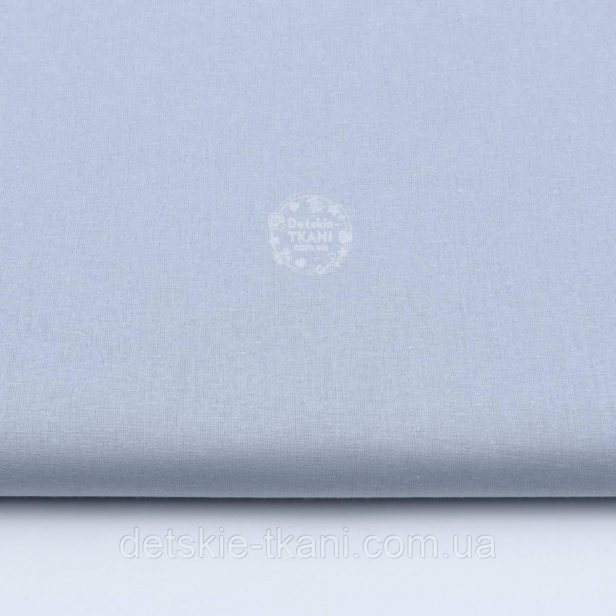 """Однотонная бязь, цвет серая """"классика"""", плотность 135 г/м2 (№1846)"""