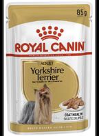 Влажный корм (Роял Канин) Royal Canin Adult Yorkshire Terrier паштет Упаковка 12 шт
