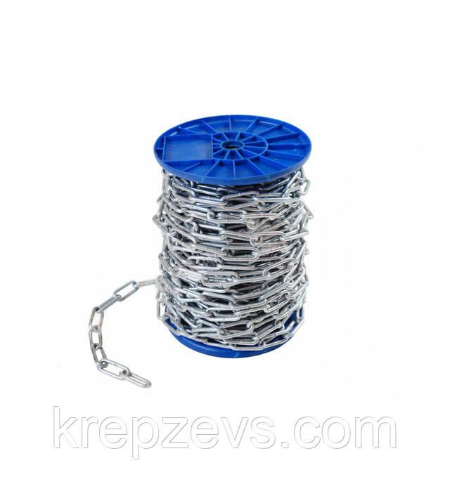 Длиннозвенная цепь Ф4 из стали А4 - купить