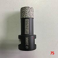 Алмазна коронка для сухого свердління, д. 20,0х60,0 мм, М14 мм