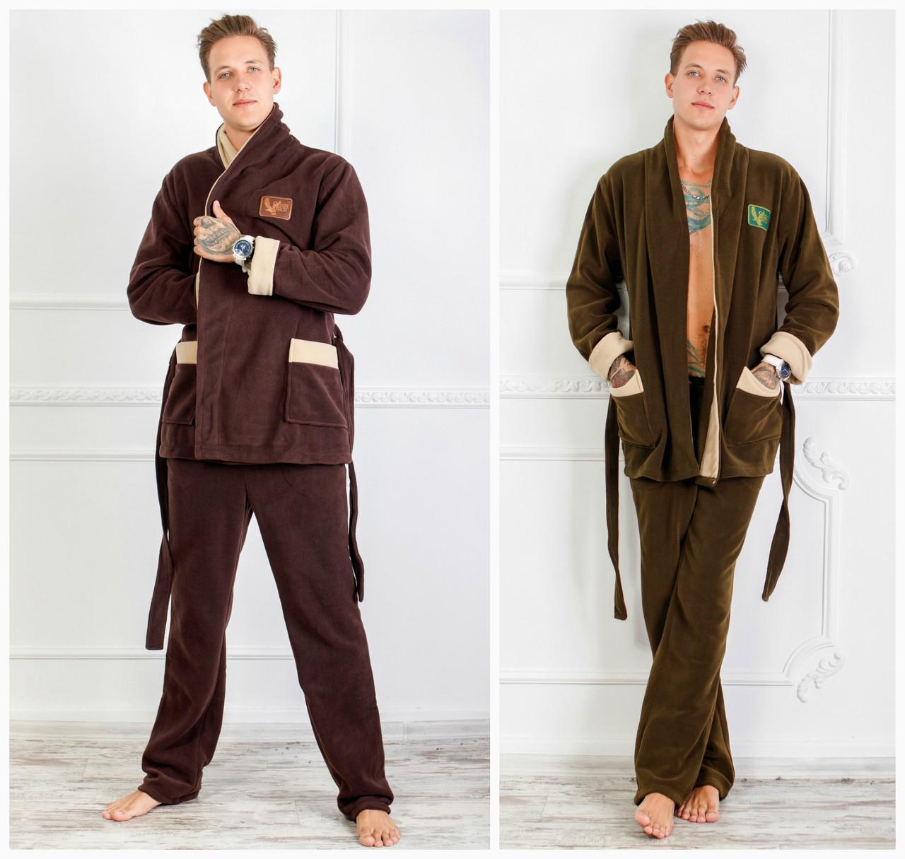 ea95c4819e5 Домашний теплый мужской костюм 17495  продажа