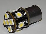 Автомобильный светодиод P21W (11-SMD)(5050)(БЕЛЫЙ), фото 4