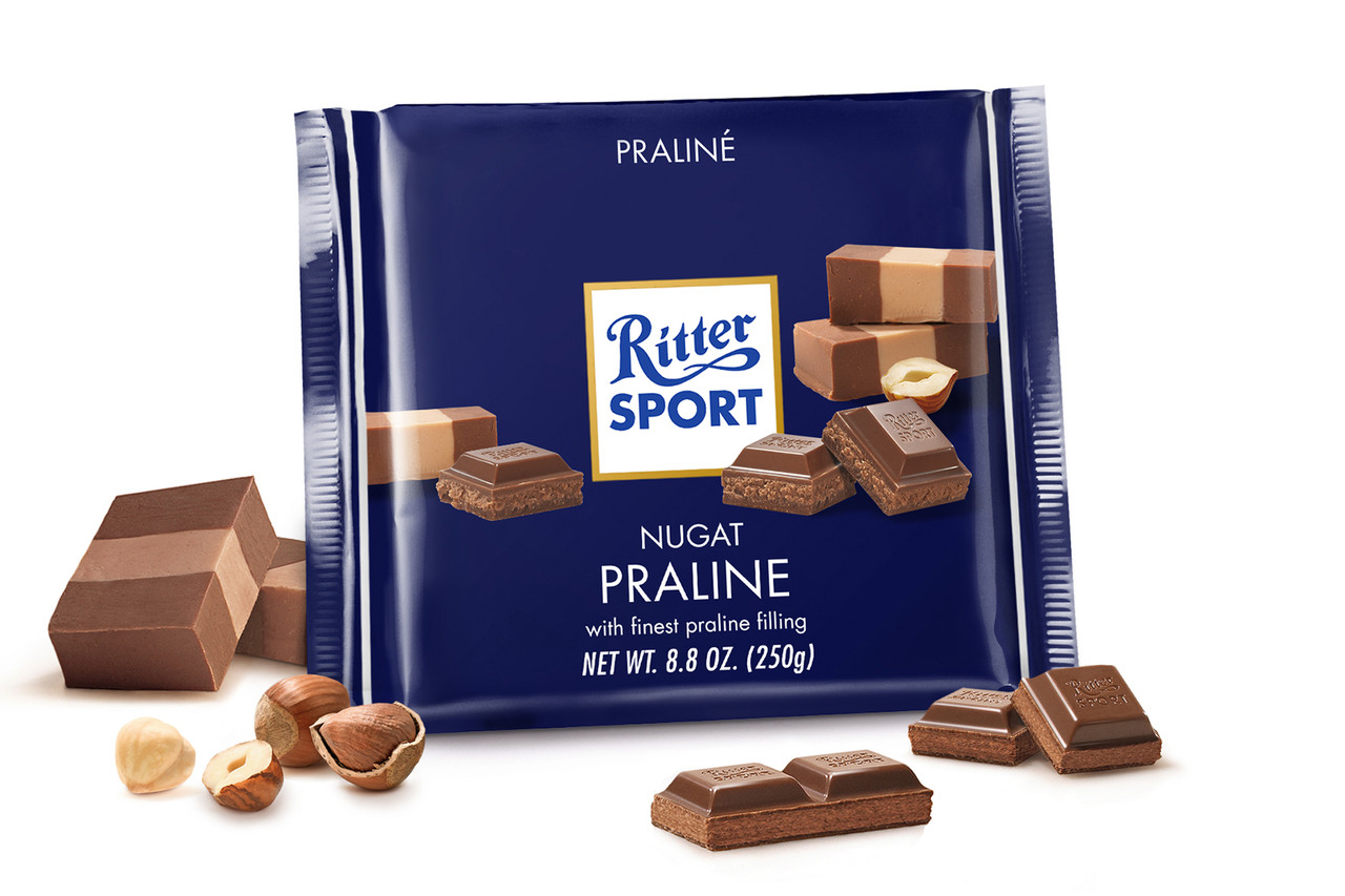 Ritter Sport Nugat Praline (Пралине) 100 г. Германия