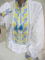 """Вышиванка в национальных цветах """"Богуслав"""", домоткан, 44-56 р-ры, 480/430(цена за 1 шт. + 50 гр.)"""