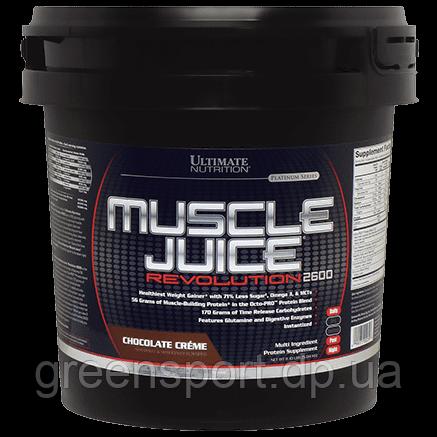 Гейнер Ultimate Muscle Juice Revolution 2600 (5,04 кг) Шоколадные сливки
