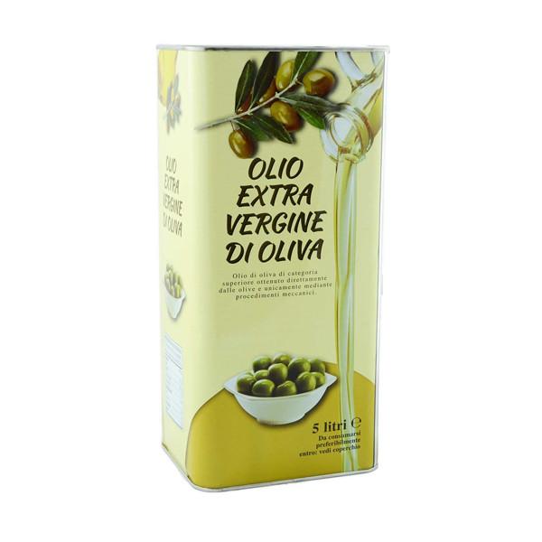 Оливковое масло Olio Extra Vergine di Oliva, 5 л .