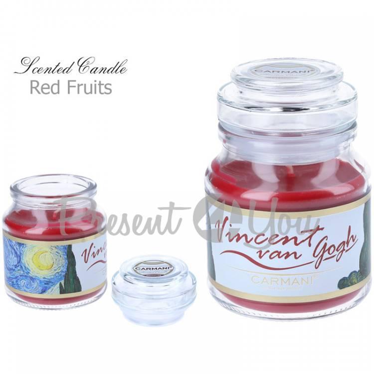 Свеча ароматизированная Ван Гог «Звездная ночь», Carmani, h-10 см