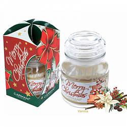 Свеча ароматизированная «Ваниль», в подарочной упаковке, Carmani, h-10 см