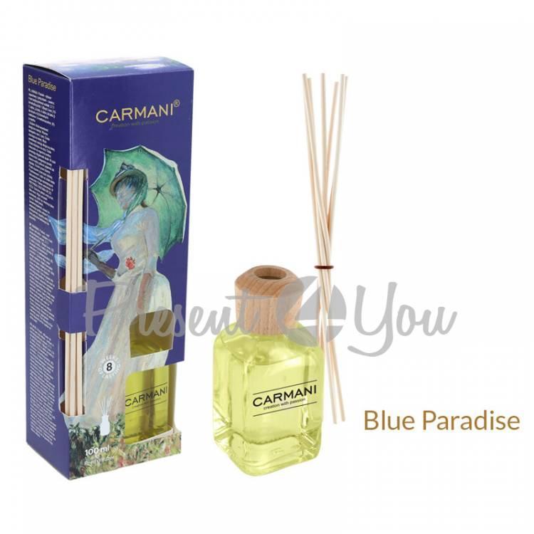 Аромадифузор Клод Моне «Дама с зонтиком» Carmani, blue paradise, 100 мл