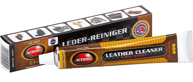 Высокоэффективный очиститель и кондиционер для кожи Autosol Leder-Reiniger ✓ тюбик 75мл. - Автокар в Киеве