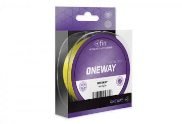 Шнур спінінг, шнур Line FIN One Way 125м / жовтий 0,12 mm 2,9 kg