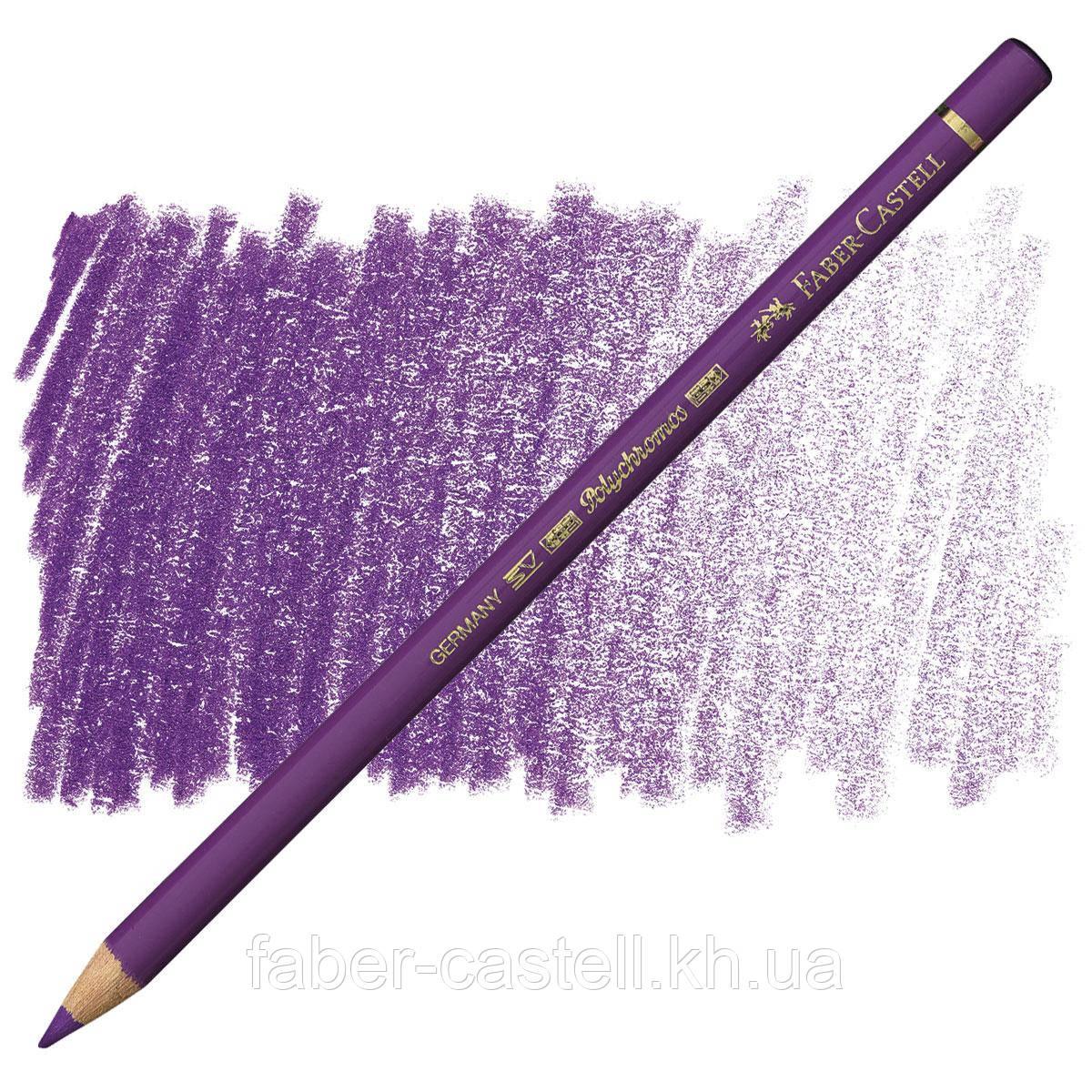Карандаш цветной Faber-Castell POLYCHROMOS марганцево-фиолетовый №160 (Manganese Violet), 110160