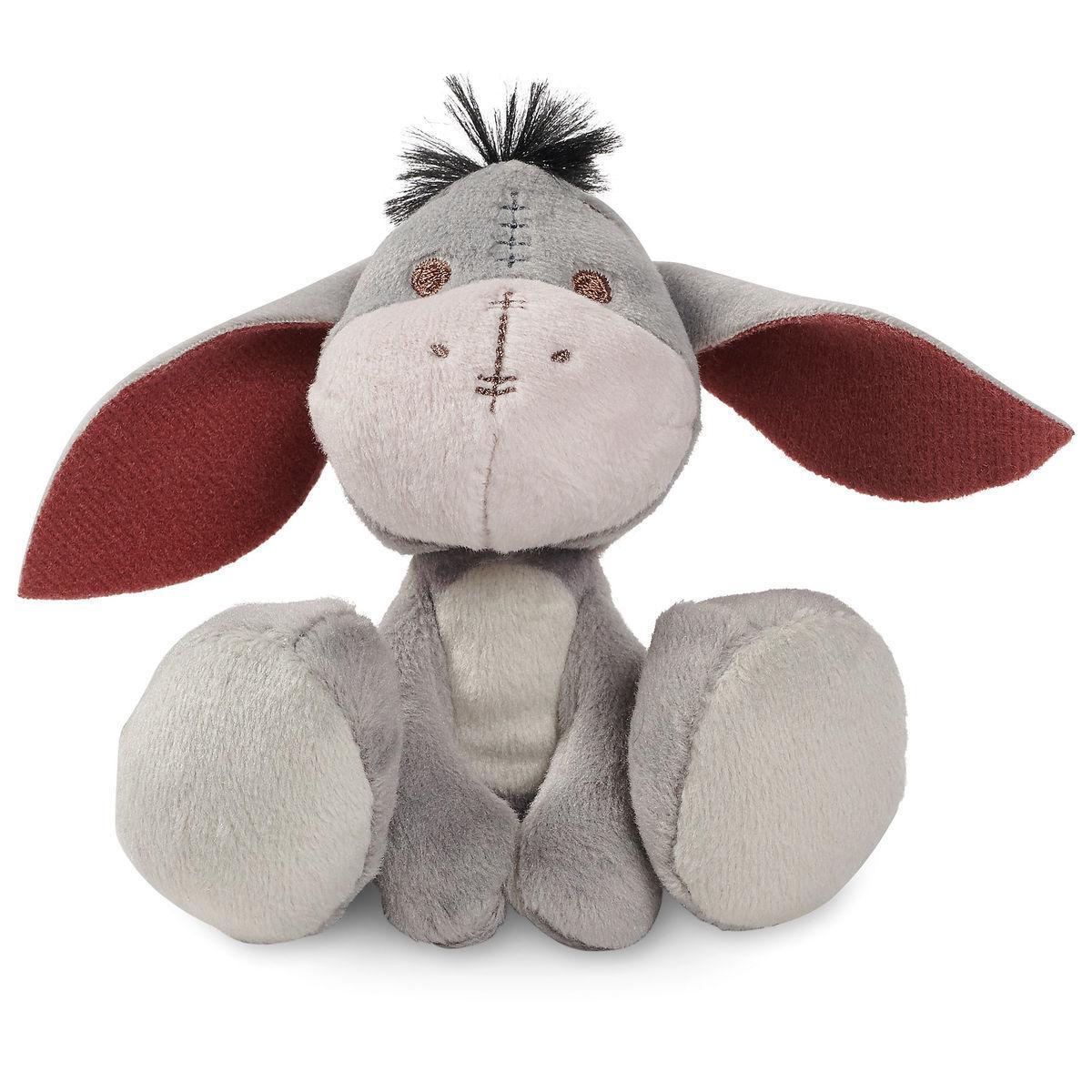 Disney мягкая игрушка крошечный ослик Иа с большими ногами 10см - серия Микро