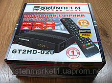 Тюнер-приймач Т2 Grunhelm GT2HD-020, фото 2