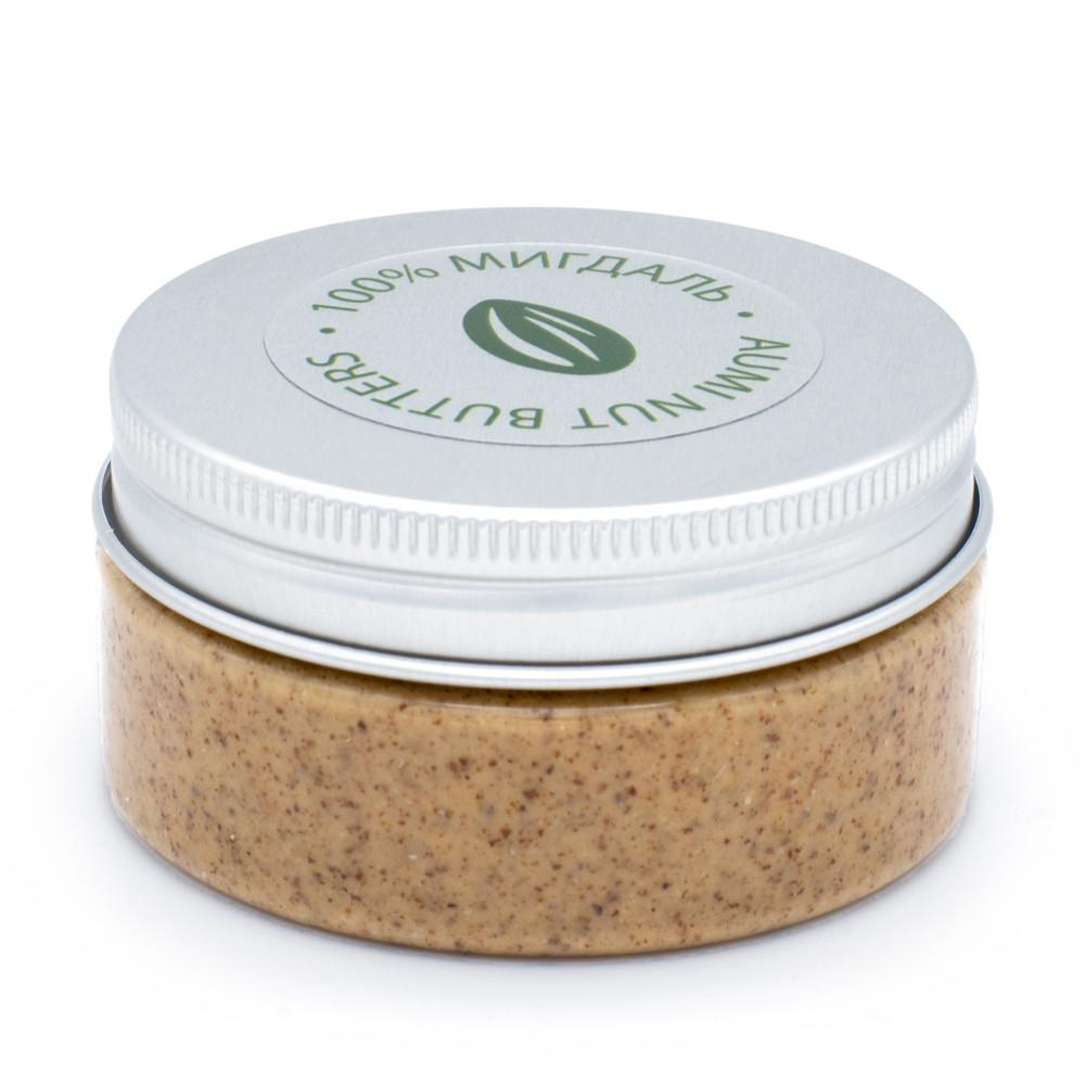 100% миндальная паста 80г, натуральная, всегда свежая, украинский живой миндаль, без добавок