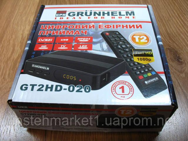 Тюнер-приймач Т2 Grunhelm GT2HD-020 в інтернет-магазині