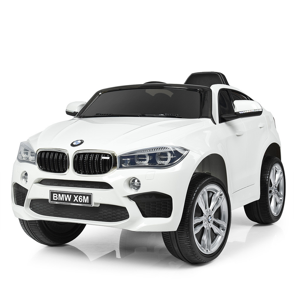 Детский электромобиль BMW JJ2199EBLR-1 белый Гарантия качества Быстрая доставка
