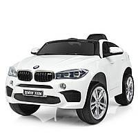 Детский электромобиль BMW JJ2199EBLR-1 белый Гарантия качества Быстрая доставка, фото 1