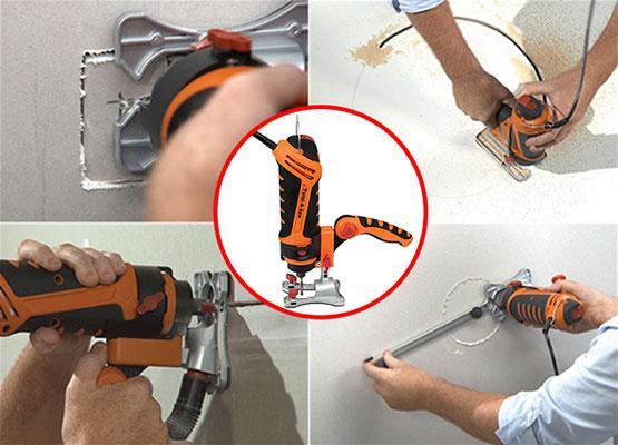 Многофункциональный реноватор Twist-A-Saw Deluxe Kit Renovator