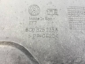 Защита двигателя SKODA Fabia, VW Polo, AUDI A1, SEAT Ibiza 6C0825235A, фото 2