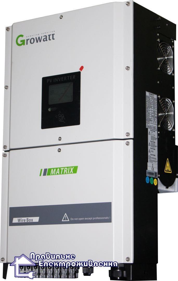 Мережевий інвертор Growatt 30000 TL3-S ( 30кВт, 3 фази, 2 шт. MPPT )