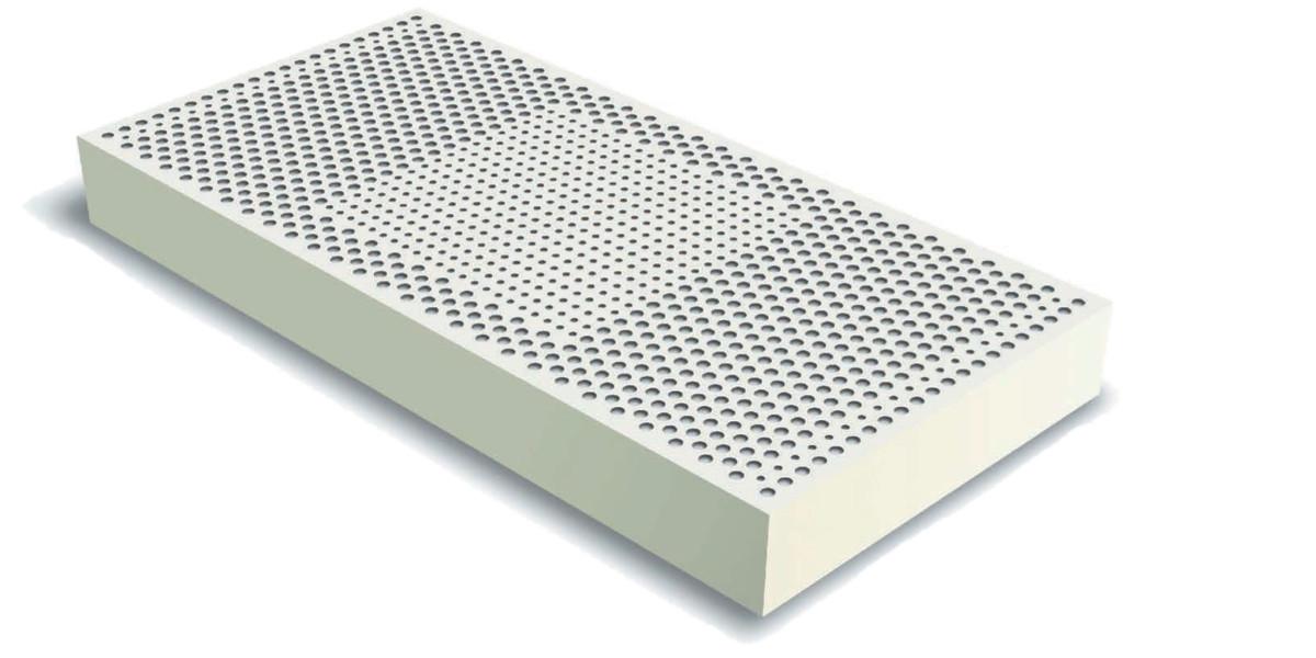 Латекс для матраса, латексный блок для матраса 140х200, высота 8 см., фото 1