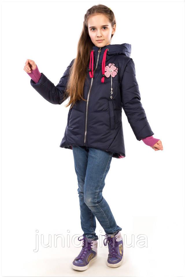 32745b718ed21 Куртка-жилет демисезонная для девочки «Диана» - Оптово-розничный интернет- магазин