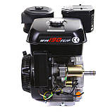 Двигатель бензиновый Weima WM190FЕ-S (HONDA GX420) (шпонка,вал 25 мм,бензин 16л.с., электростартер), фото 2