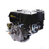 Двигатель бензиновый Weima WM190FЕ-S (HONDA GX420) (шпонка,вал 25 мм,бензин 16л.с., электростартер), фото 4