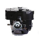 Двигатель бензиновый Weima WM190FЕ-S (HONDA GX420) (шпонка,вал 25 мм,бензин 16л.с., электростартер), фото 5