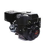 Двигатель бензиновый Weima WM190FЕ-S (HONDA GX420) (шпонка,вал 25 мм,бензин 16л.с., электростартер), фото 6
