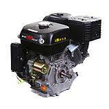 Двигатель бензиновый Weima WM190FЕ-S (HONDA GX420) (шпонка,вал 25 мм,бензин 16л.с., электростартер), фото 7