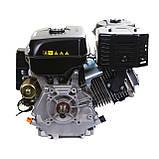 Двигатель бензиновый Weima WM190FЕ-S (HONDA GX420) (шпонка,вал 25 мм,бензин 16л.с., электростартер), фото 8